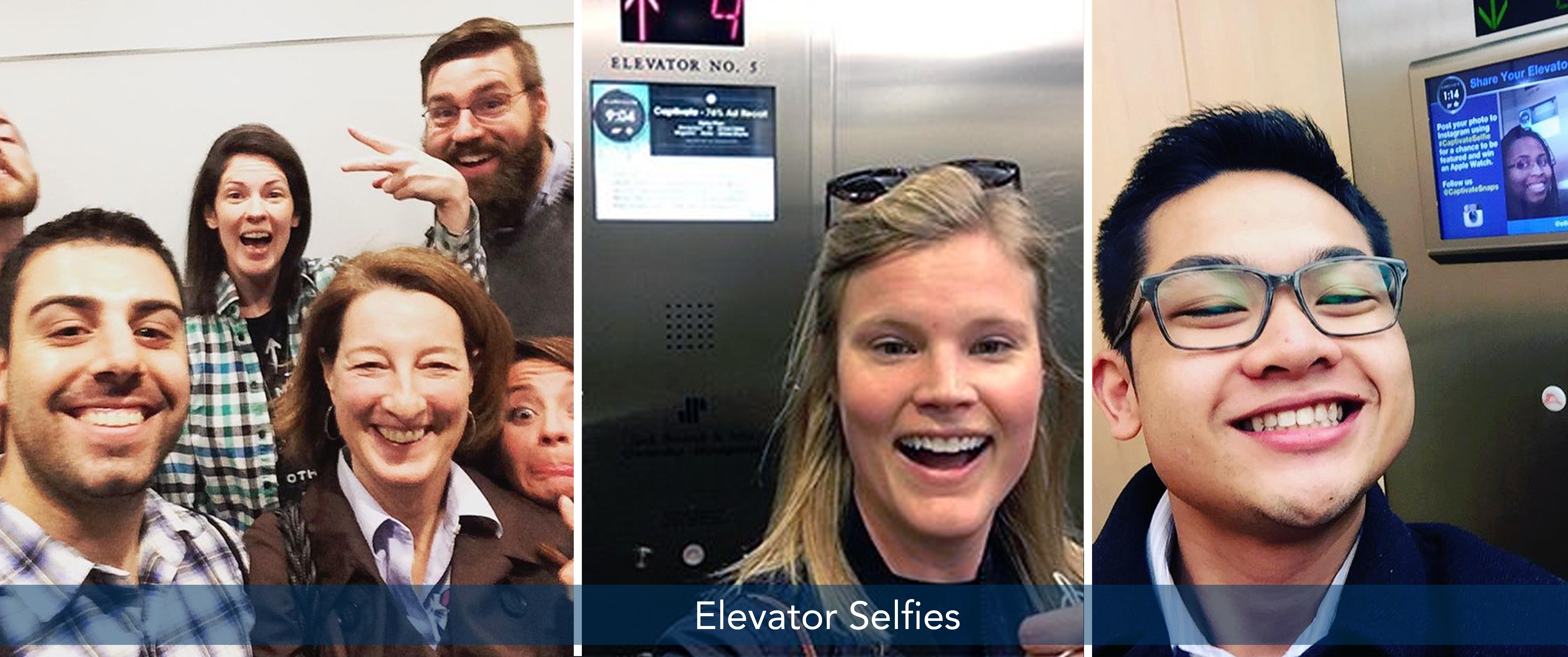 Share Viewer Photos On Captivate Elevator Screens