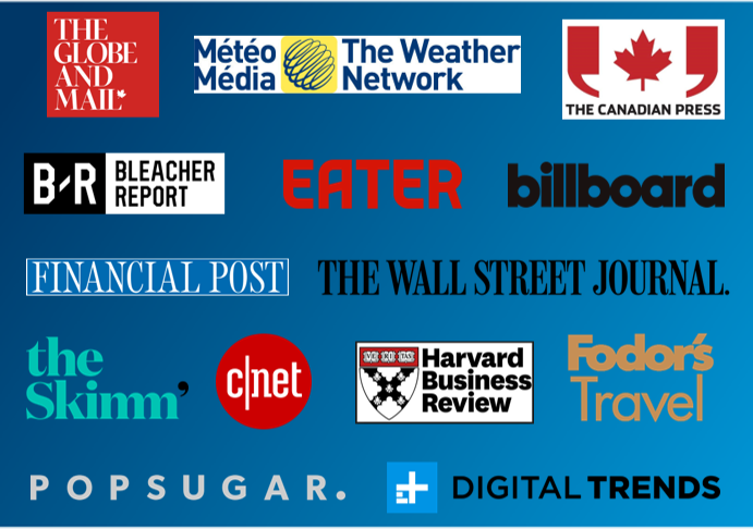 Captivate Canadian Content Providers - digital display