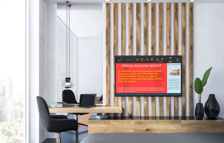 Captivate Digital Signage Display Tenant Communication ScreenCenter